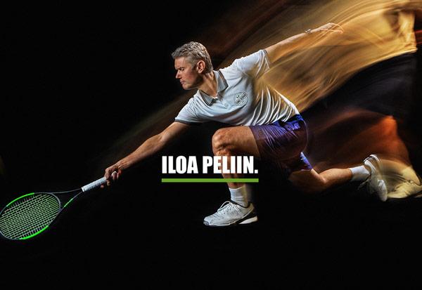 Tennis-Hedman - iloa peliin.